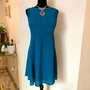 Gently used PLUS SIZE Torrid A-Line dress!